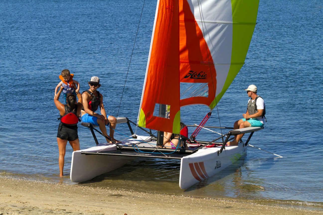 Hobie Getaway catamaran sailboat for sale