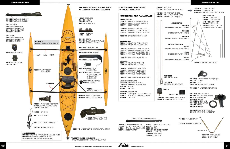 Adventure Island Hull Parts