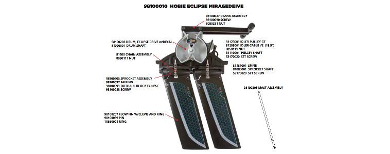 backyard boats eclipse drive parts
